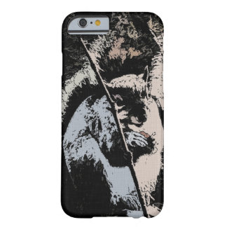 Happy Squirrel in Ink iPhone 6, Barely There Barely There iPhone 6 Case