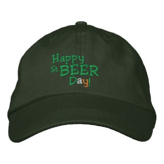 Happy St. Beer Day! Embroidered Hats
