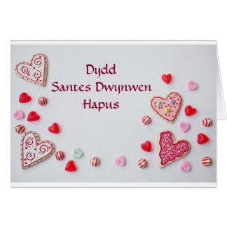 Happy St Dwynwen's Day Card