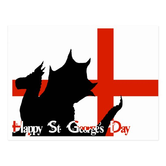 Happy St George's Day - Postcard