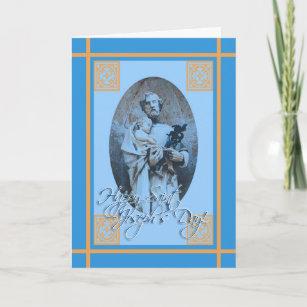 Saint joseph feast day cards invitations zazzle happy st josephs feast day greeting card m4hsunfo