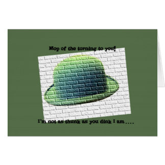 Happy St Paddy s Day Greeting Card
