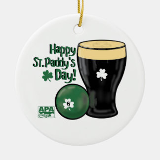 Happy St. Paddy's Day Christmas Ornament