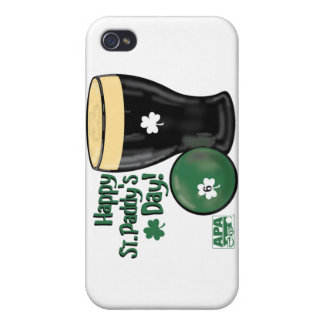 Happy St. Paddy's Day iPhone 4 Case