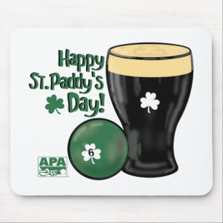 Happy St. Paddy's Day Mouse Mat