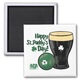 Happy St. Paddy's Day Square Magnet