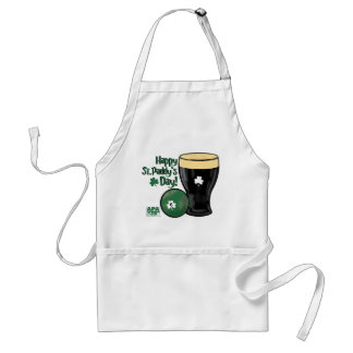 Happy St. Paddy's Day Standard Apron