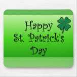 Happy St. Patrick's Day Mouse Mats