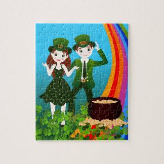 Happy St Patrick Day Puzzle