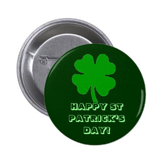 HAPPY ST PATRICK S DAY BUTTON