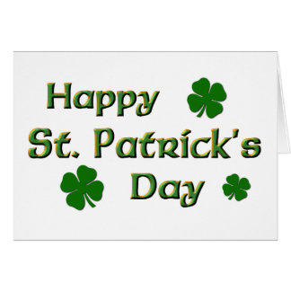 Happy St Patrick s Day Card