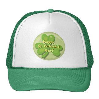 Happy St. Patrick´s Day Shamrock Trucker Hat