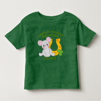 Happy St. Patrick's Birthday to Me! Toddler T-Shirt