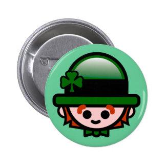 Happy St. Patrick's Button