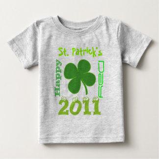 Happy, St. Patrick's Day 2011 Baby T-Shirt