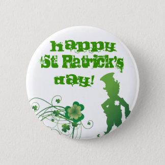 Happy St. Patrick's, Day! 6 Cm Round Badge