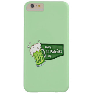 Happy St. Patricks Day Beer Barely There iPhone 6 Plus Case