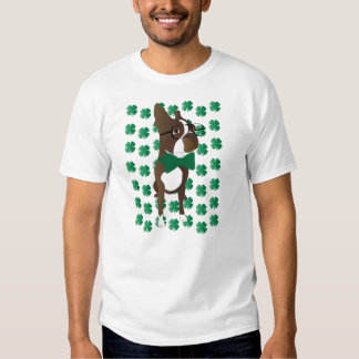 Happy St. Patrick's Day Boston Terrier Shirt