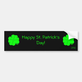 Happy St. Patrick's Day Bumper Sticker