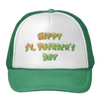 HAPPY ST PATRICKS DAY by SHARON SHARPE Trucker Hat