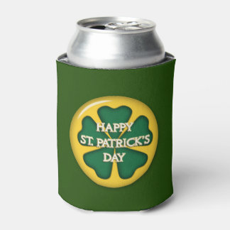 Happy St. Patrick's Day Can Cooler