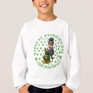 Happy St. Patrick's Day - Chicago Style Sweatshirt