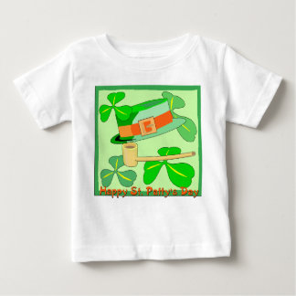 Happy St Patrick's Day Collage Baby T-Shirt