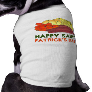 Happy St. Patrick's Day Corned Beef & Cabbage Tee