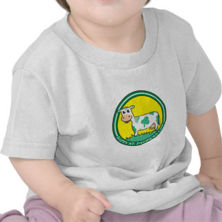 Happy St. Patrick's Day Cow Shirt