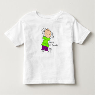 """Happy St. Patrick's Day"" Cute Toddler T-shirt"