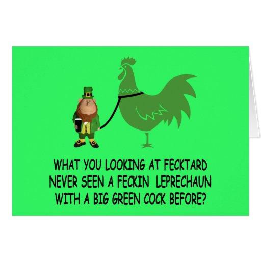 Happy St.Patrick's Day fecktard Cards