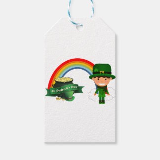 HAPPY ST PATRICK'S DAY GIFT TAGS