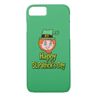 Happy St. Patrick's day Leprechaun iPhone 7 Case