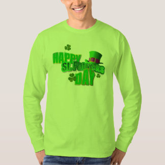 Happy St. Patrick's Day Men's Longsleeve T-Shirts