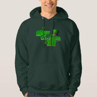 Happy St. Patrick's Day Men's Pullover Hoodies