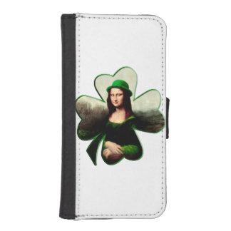 Happy St Patrick's Day Mona Lisa Shamrock