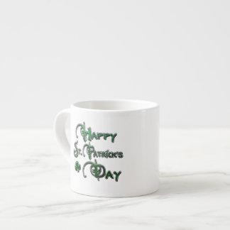 Happy St Patricks Day Espresso Mug