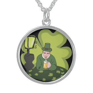 HAPPY ST. PATRICK'S DAY STERLING SILVER NECKLACES