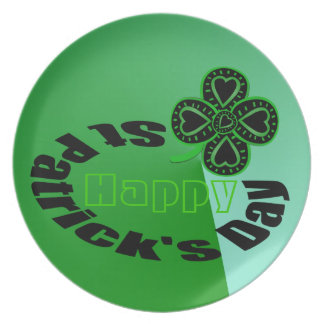 Happy St Patrick's Day - Plate