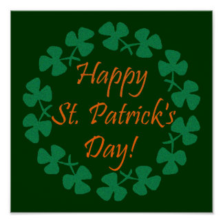 Happy St. Patrick's Day Poster