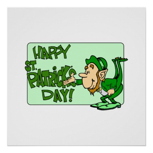 Happy St. Patrick's Day Posters