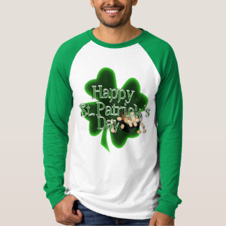 Happy St Patrick's Day - Pot Of Gold T Shirt
