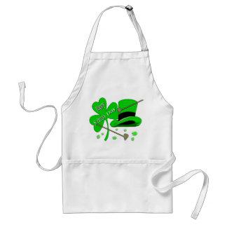 Happy St Patrick's Day Shamrock Standard Apron