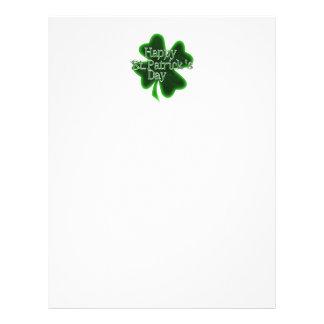 Happy St. Patricks Day Shamrock 21.5 Cm X 28 Cm Flyer