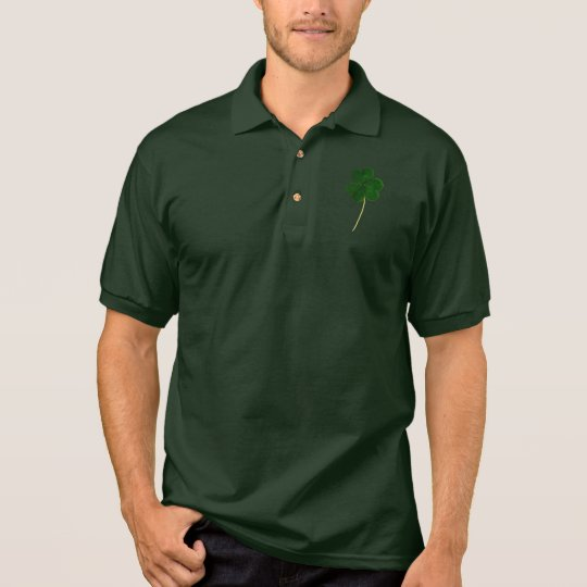 Happy St. Patrick's Day! Shamrock Irish Clover Polo