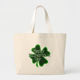 Happy St. Patricks Day Shamrock Bags