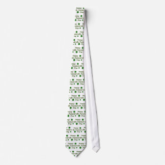 Happy St. Patrick's Day Tie