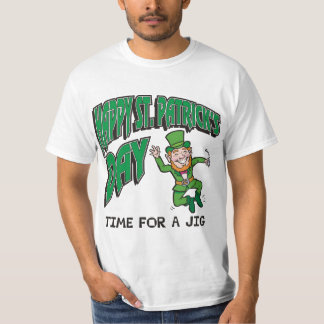 Happy St. Patrick's Day Time For A Jig T-Shirt