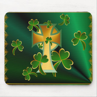 Happy St. Patrick's Day to you!-dark Mouse Pad