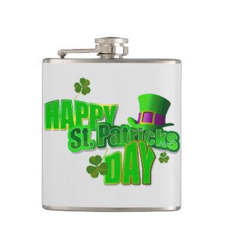 Happy St. Patrick's Day Flasks
